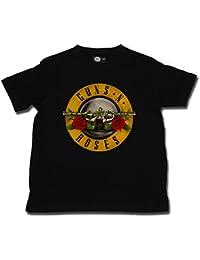 Guns 'n Roses (Bullet): Baby T-Shirt, schwarz