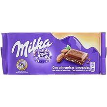 Milka Tableta De Chocolate Leche Y Almendras - 125 g