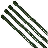 con dise/ño de estacas 400 mm Paquete de 15 pinzas de madera para postes de madera