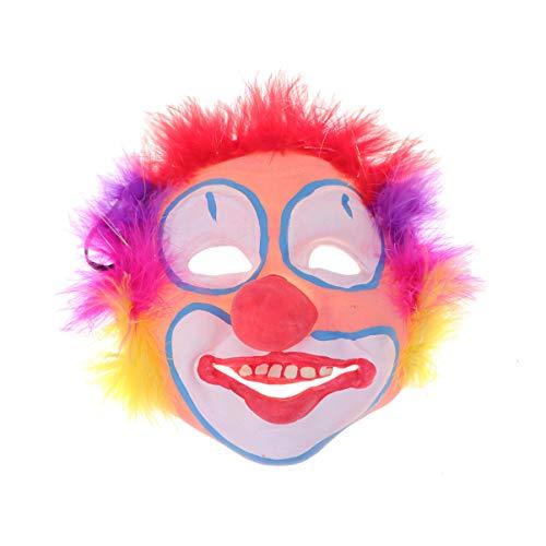 - Kind Regenbogen Clown Perücke