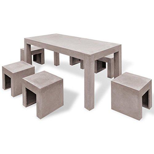 vidaxl-7-tlg-beton-gartenmobel-set-sitzgruppe-essgruppe-gartengarnitur-tisch-hocker