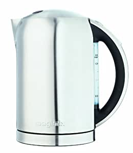 Magimix Brushed Stainless Steel Jug Kettle with Charcoal Handle, 1.8L