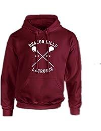BOMOVO Beacon Hills Stilinski Lahey Lacrosse Mccall sudadera con capucha