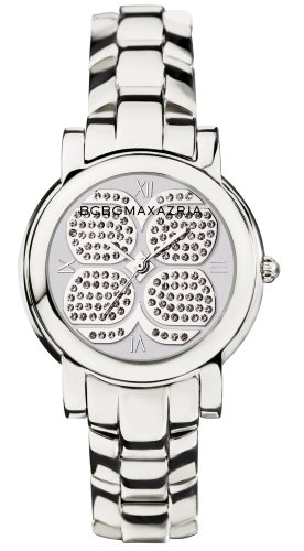 bcbg-womens-stainless-steel-white-dial-crystal-accents