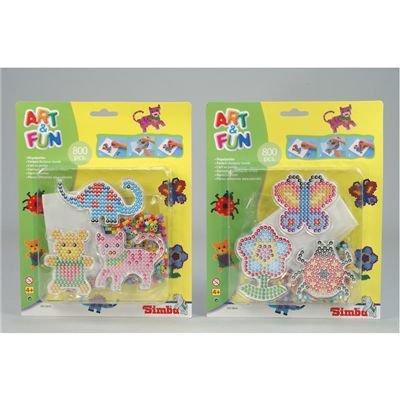 Desconocido Simba Art & Fun 106372914 - 800 Perlas Importado de Alemania