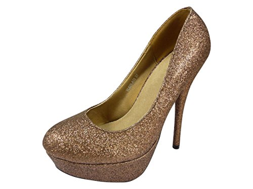 Chaussmaro ,  Damen Formelle Schuhe Bronze