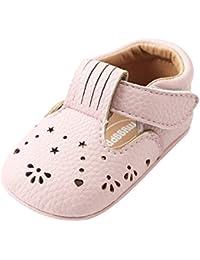 ESTAMICO Chaussures Premiers Pas bébé Fille Baskets bébé ... 1ea17031d473