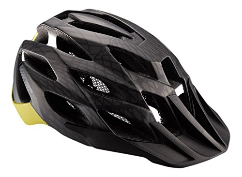 GT Force Cycling Helmet - Black/Yellow, 58-62cm