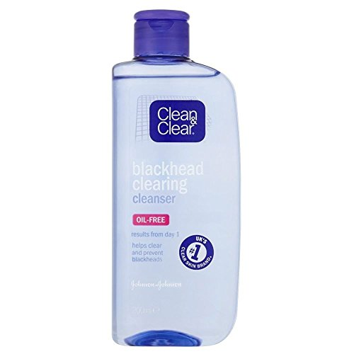 Clean & Clear Mitesser Clearing Cleanser (200 ml) - Packung mit 2