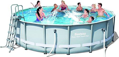 Bestway Frame Pool Power Steel Set 488x122 cm