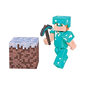 Minecraft 16478 - Alex With Diamond Armor Set - Series 3 Wave 1