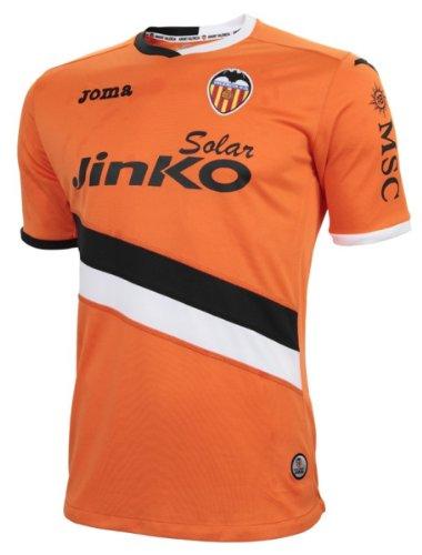 Valencia Joma Herren Fußball Trikot C.F, Auswärtssocken, 2013-14, Herren, XXL