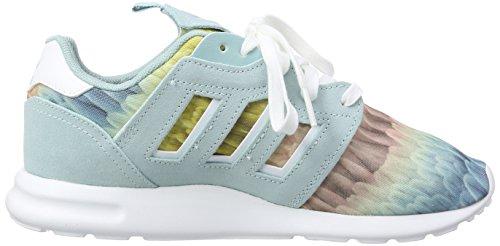adidas Zx 500 2.0, Baskets Basses femme Grün (Clear Green S12/Ftwr White/Clear Green S12)