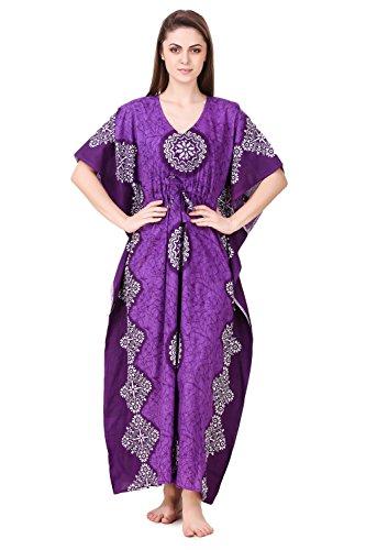 Masha Women's Cotton Kaftan Nighty