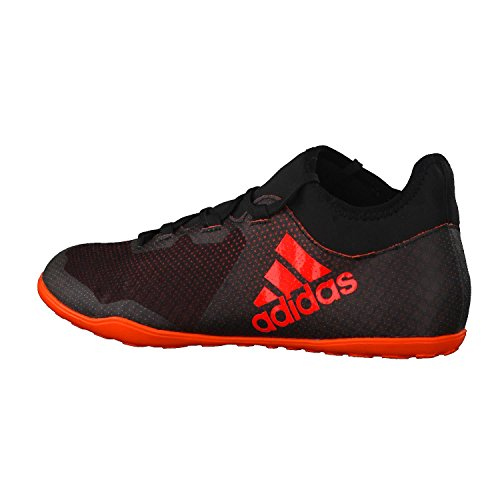 adidas X Tango 17.3 In, Chaussures de Football Homme Noir (Negbas / Rojsol / Narsol)