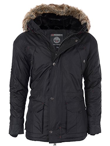 M424 Geographical Norway Herren warme Winterjacke gefütterte Winter Jacke Parka