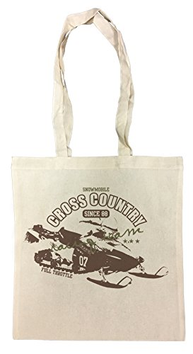 Erido Cross Country Einkaufstasche Wiederverwendbar Strand Baumwoll Shopping Bag Beach Reusable