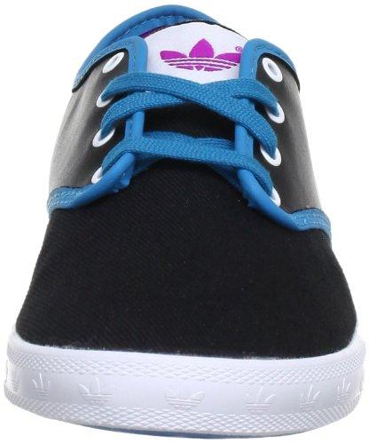 adidas Originals  ADRIA PS K, basket fille Noir - Schwarz (BLACK 1 / TURQUOISE / VIVID PINK S13)