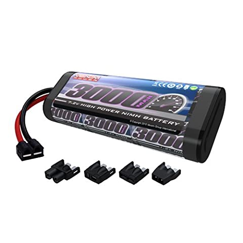 Venom 7.2v 3000mAh 6-Cell NiMH Battery with Universal Plug System