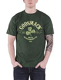 Godsmack T Shirt Herren Celtic Band Logo Boston USA Nue Offiziell
