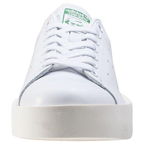 adidas Damen Stan Smith Bold Sneaker Low Hals Elfenbein (Ftwbla/verde)
