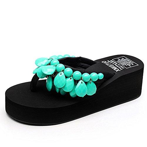 Estate Sandali Pantofole in rilievo fatti a mano Pantofole spesse Sandali di pattini con 8 colori Colore / formato facoltativo #1