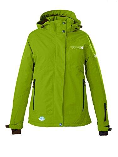 DEPROC-Active Damen Winterjacke und Outdoorjacke Montreal Neues Modell, Lime, 50.0, 54631-510-50