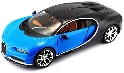 "Maisto - 531514 - Véhicule Miniature ""Bugatti Chiron"" 1:24 -Modèle aléatoire"