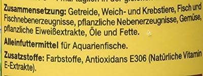 JBL NovoGranoMix 30102 Alleinfutter für große Aquarienfische Nachfülldose Granulat, 250 ml