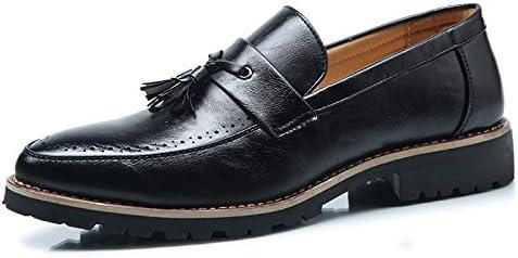 Koyi Zapatos con Flecos De Los Hombres Zapatos Puntiagudos Transpirables Ocasionales Versión Coreana De Los Zapatos...