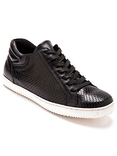 Balsamik - Sneakers con zeppa in pelle larghezza comfort - - Size : 36 - Colour : Nero