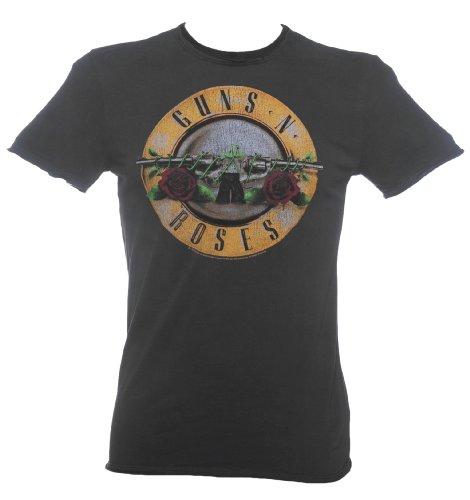 Amplified Herren T-Shirt Schwarz - Schwarz