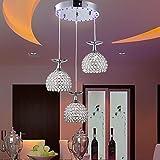moderna de cristal llevó la lámpara colgante con dise?o de copa de vino