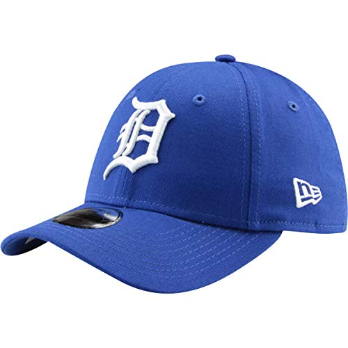 New Era Kinder Jungen Baseball Cap Mütze 940 Strapback Detroit Tigers Leag Esnl Kids Dettig Roywhi Blau