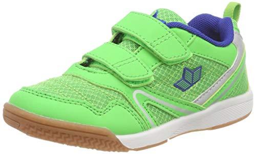 Lico Unisex-Kinder Boulder V Multisport Indoor Schuhe, Gruen/BLAU, 41 EU