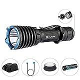 Olight Taschenlampe Warrior X 2000 Lumen, Taktische LED-Taschenlampe, MCC-Magnetladekabel, 18650 3000mAh Batterie enthalten, ideal f¨¹r Verteidigung und Milit?r usw.