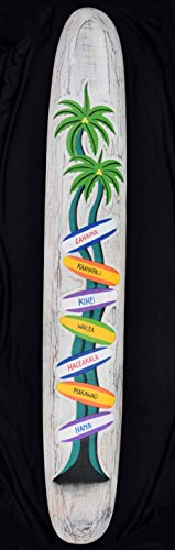 Diferentes-seales-Cartel-de-madera-en-tabla-de-surf-Style-150-cm-longitud-Cartel-Surf-Lounge-Style-Hawaii