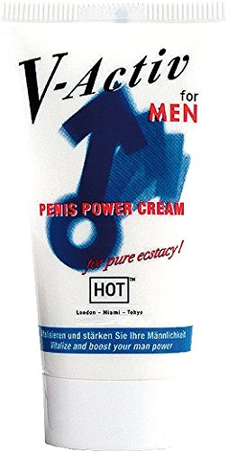 HOT V-Activ Penis Power Cream for men, 50 ml - 2
