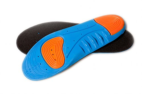 FreshGadgetz 2 Paare Volle Länge PU Schaum Athletische Einlegesohlen für Männer - Spenco Fuß-kissen