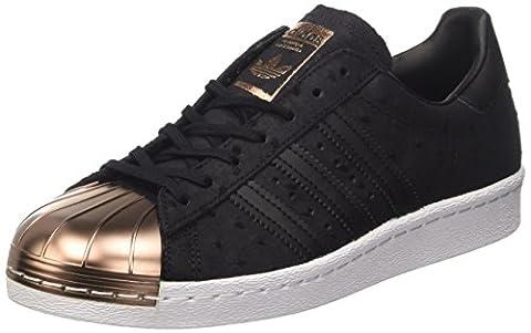 adidas Superstar 80s Metal Toe W chaussures, Noir, 40 EU