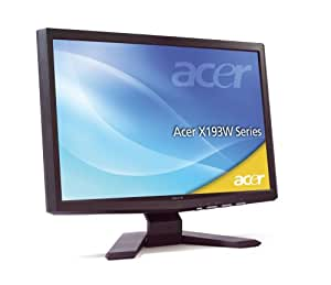 Acer X193Wb 19-inch Widescreen LCD TFT Monitor, 5ms, VGA, 2000:1