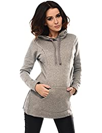 2d8834206f320 Purpless Maternity 2in1 Pregnancy and Nursing Hoodie Sweatshirt for Pregnant  and Breastfeeding Woman Hooded Top with