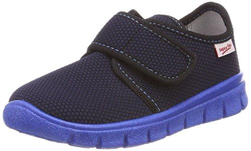 Superfit Jungen Bobby Haus Schuhe, Blau (Ocean Kombi 81), 31 EU