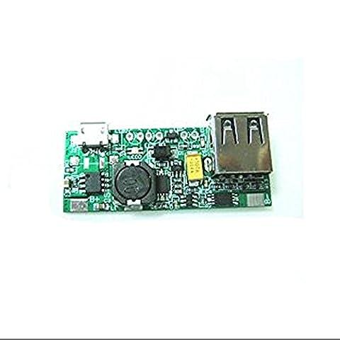 SMO USB 5V 1A entré/sortis Chargeur de batterie conseil de développement Alimenter 18650 iPhone MP3