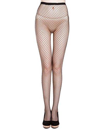 Verkauf Für Günstige Kostüme (Kostüm Damen Netzstrumpfhose Netz Strumpfhose Hiroo Frauen Overknee Strümpfe Elastische Spitze Grobe Maschen Strumpf Hose)