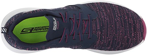 Skechers Go Run Ride 7, Scarpe Sportive Indoor Donna Blu (Navy/purple)