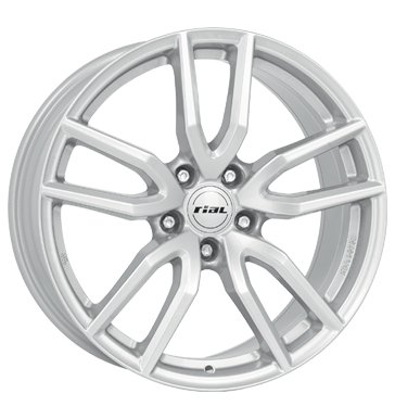 Preisvergleich Produktbild Rial Torino 6,5x16 ET40 5x114,3 polar-silber