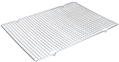 Städter 2305-129 Tortengitter, Metal verchromt, Silber, 50 x 36 cm
