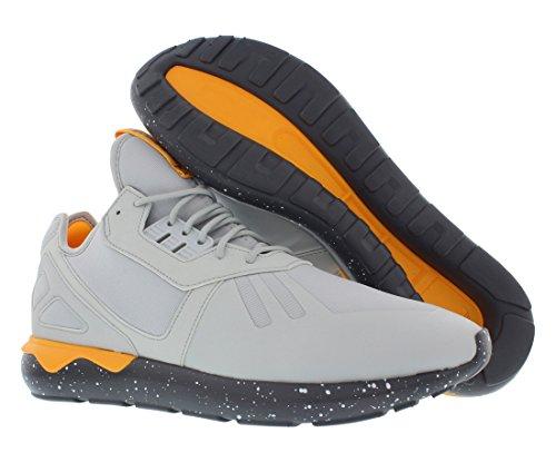 Adidas Tubular Runner Mens Fashion-baskets Aq8388_7 - Clear Gris / onix / néon orange Clear Grey/Onix/Neon Orange
