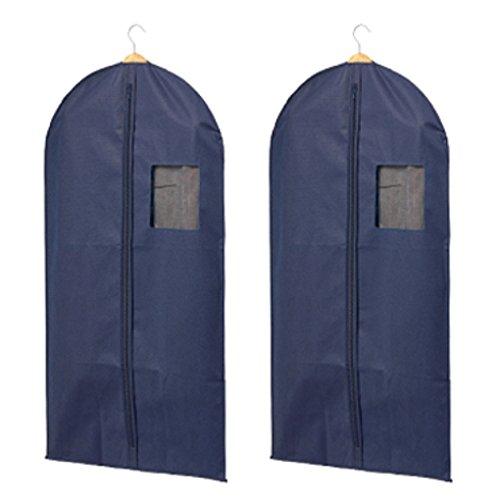 H & L Russel Vlies-Anzugschutzhülle, Marineblau, 2 Stück (Boys Navy Anzüge)